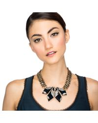 Lulu Frost - Metallic Reflection Necklace - Lyst