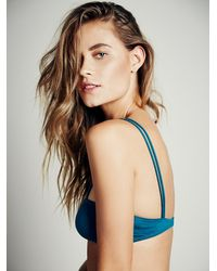 Free People - Green Intimately Womens Strappy Front Bra - Lyst
