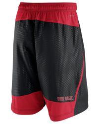 Nike - Black Cotton-blend Tech Fleece Shorts for Men - Lyst