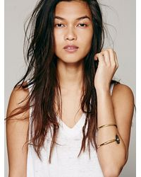 Free People - Metallic From St. Xavier Womens Diti Crystal Cuff - Lyst