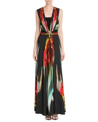 Just Cavalli - Printed Maxi Dress - Multicolor - Lyst
