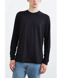 BDG | Black Long-sleeve Crew Neck Tee for Men | Lyst