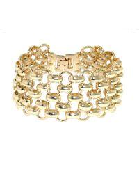 1928 | Metallic Mesh Link Bracelet | Lyst