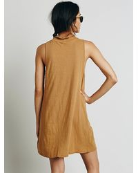 Free People | Natural Fp Beach Womens Veruca Tunic | Lyst