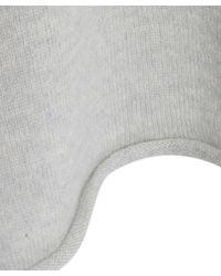 Eskandar - Gray Grey Raw Edge Cashmere Knit Jumper - Lyst