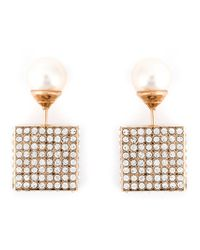 Vita Fede | Metallic Cube Earrings | Lyst