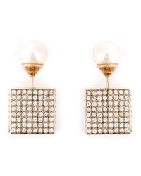 Vita Fede - Metallic Cube Earrings - Lyst