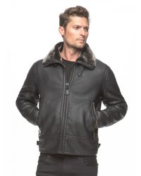 Marc New York | Black Kane Faux-Leather Jacket for Men | Lyst