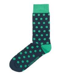 Björn Borg - Green Spot Print Sock for Men - Lyst