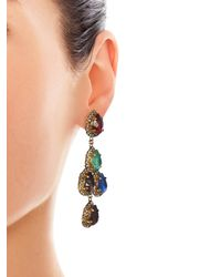 Erickson Beamon - Multicolor Duchess Of Fabulous Earrings - Lyst