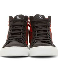 Marcelo Burlon - Red Alas High_Top Sneakers for Men - Lyst