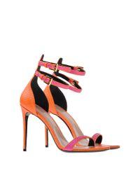 Barbara Bui - Orange Sandals - Lyst