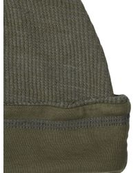 Splendid - Green Mens Thermal Beanie for Men - Lyst
