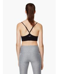 Mango - Black Fitness & Running - Seamless Light Impact Bra - Lyst