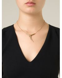 Shaun Leane - Blue Branch Pendant Necklace - Lyst