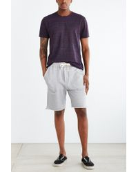 BDG | Gray Cutoff Knit Short for Men | Lyst