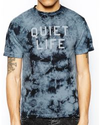 The Quiet Life - Gray Tshirt with Stormy Tie Dye for Men - Lyst