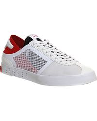 50f2dd10be076 adidas Y3 Lazelle Trainers - For Men in White for Men - Lyst