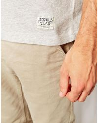 Jack Wills - Blue Tshirt with Color Block for Men - Lyst
