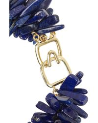 Kenneth Jay Lane | Blue Lapis Lazuli Necklace | Lyst