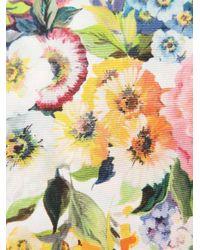 Dolce & Gabbana - Multicolor Silk Scarf - Lyst