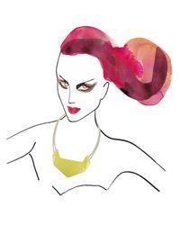 Marion Vidal | Yellow Ceramic Pendant | Lyst