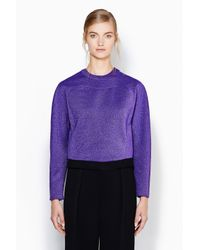 3.1 Phillip Lim - Purple Poet Sweatshirt - Lyst