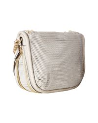 She + Lo - White Next Chapter Zip Crossbody - Lyst
