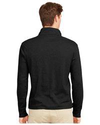 Polo Ralph Lauren - Black Pima Soft-touch Pullover for Men - Lyst