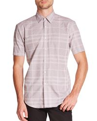 Burberry | Purple Melthorpe Cotton Sportshirt for Men | Lyst