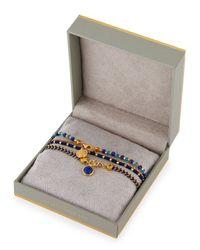 Astley Clarke - Blue Intrepid Spirit Charm Bracelets - Lyst