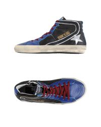 Golden Goose Deluxe Brand | Blue High-tops & Trainers | Lyst