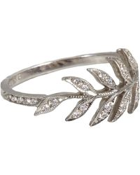 Cathy Waterman - Metallic Wheat Sheaf Ring - Lyst