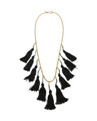 Vanessa Mooney | Metallic The Lovell Tassel Necklace | Lyst