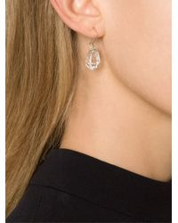 Melissa Joy Manning | Gray Drop Earrings | Lyst