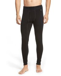 Smartwool | Black Layering Pants for Men | Lyst