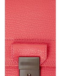 3.1 Phillip Lim - Red Pashli Mini Messenger - Lyst