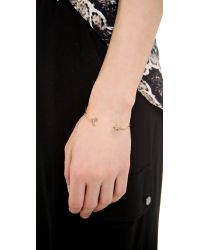 Tai - Metallic Star & Moon Bangle Bracelet - Lyst