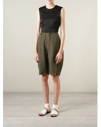 Societe Anonyme - Brown Balloon Shorts - Lyst