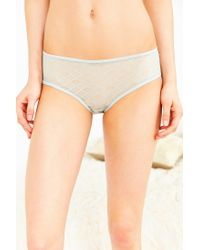 Urban Outfitters | Green Christy Lace Keyhole Hipster | Lyst