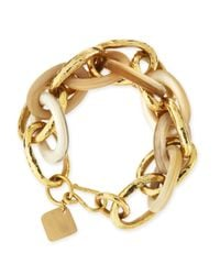 Ashley Pittman - Metallic Ndovu Light Horn & Bronze Bracelet for Men - Lyst
