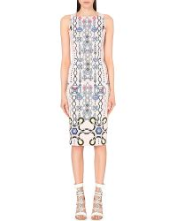 Peter Pilotto | Natural Kia Printed Jersey Dress - For Women | Lyst