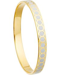 Astley Clarke - Metallic Moonlight Honeycomb Bangle - Lyst