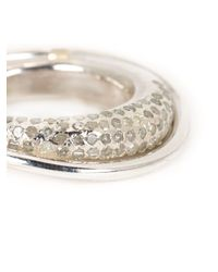 Rosa Maria | Metallic 'Chie' Diamond Ring | Lyst