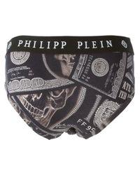 Philipp Plein - Black Dollars Briefs for Men - Lyst