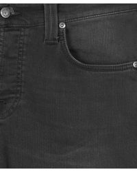 Nudie Jeans - Gray Charcoal Grim Tim Black Out Jeans L30 for Men - Lyst
