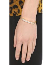 Vita Fede | Multicolor Aria Crystal Bracelet - Gold/clear | Lyst