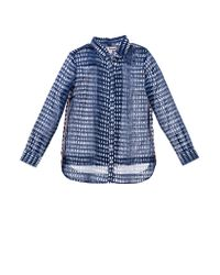 lemlem | Blue Easy Shirt | Lyst