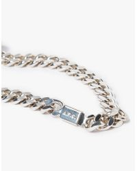 A.P.C. - Metallic Jarvis Bracelet for Men - Lyst