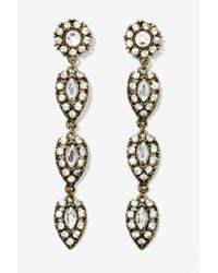 Nasty Gal | Metallic Winslet Drop Earrings | Lyst
